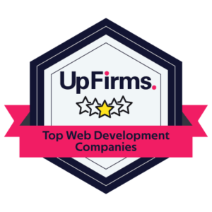 best web developer company badge