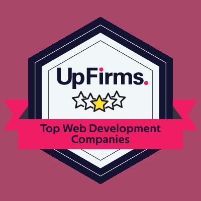 best web developer company badge